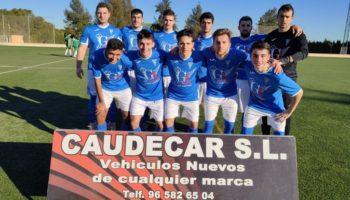 El C.D. Caudetano empató a dos frente al At. Ossa y el Juvenil perdió 3-0 en Valdeganga