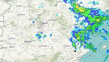 La borrasca 'Gloria' se ha situado ya en el Mediterráneo y propiciará nevadas en todo el sureste a partir de hoy