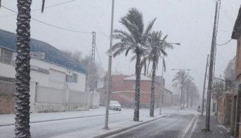 La nieve podría llegar a Caudete entre el domingo y el martes próximos