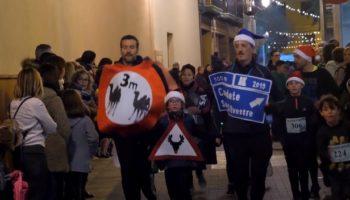 Vídeo | Damián Navarro ha publicado un vídeo de la pasada San Silvestre Caudetana