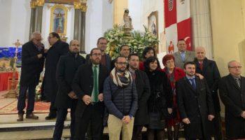 Una representación caudetana visitó las Fiestas de Valverde de Júcar