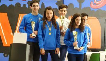 Caudete participó con seis jugadores en el Campeonato Provincial de Ajedrez por Edades 2020