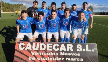 Dura derrota del C.D. Caudetano por 2-3 contra el Almansa B, mientras el Juvenil goleó 2-11 al Aguas Nuevas