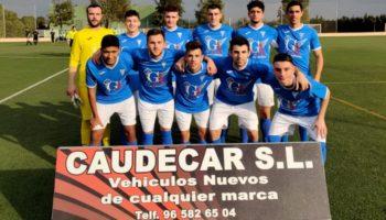 El C.D. Caudetano ganó 2-0 al Imperial de Bonete