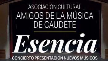 La Asociación Cultural Amigos de la Música de Caudete ofrecerá un concierto el viernes 21 de febrero