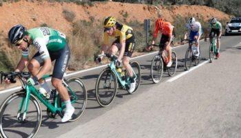 Excelente etapa la que hizo anteayer Héctor Sáez en la Vuelta a la Comunidad Valenciana