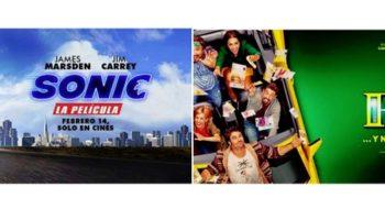 'Sonic' y 'Si yo fuera rico' se proyectarán en el Auditorio Municipal el próximo fin de semana