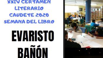 Suspendido el Certamen Literario 'Evaristo Bañón', así como las actividades del Día del Libro