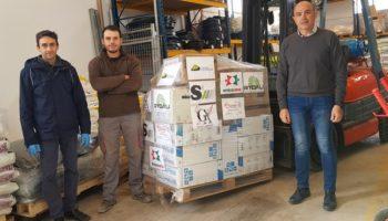 Varias empresas de Caudete han realizado una compra de material destinado al Hospital de Albacete