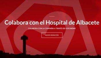 Campaña para recaudar fondos para el Hospital de Albacete