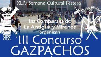 SUSPENDIDO | III Concurso de Gazpachos Manchegos organizado por las Comparsas de Mirenos y La Antigua