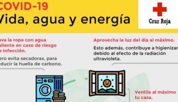 Cruz Roja Caudete ofrece una serie de consejos sobre consumo, reciclaje o agua en relación al coronavirus