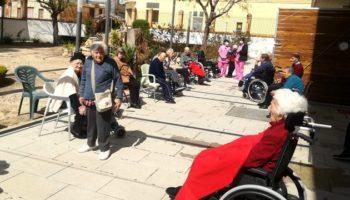Todos los usuarios de la Residencia de Ancianos San Juan Evangelista de Caudete se encuentran bien