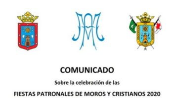 Información importante referente a la celebración de las Fiestas de Moros y Cristianos de Caudete