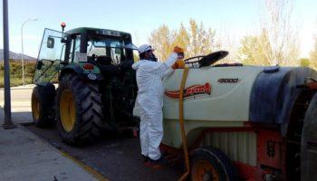 Esta tarde se van a desinfectar las zonas de Los Villares y del Parque Tecnológico Empresarial de Caudete