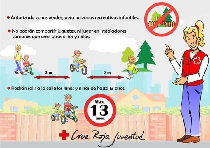 Cruz Roja Caudete impulsa una campaña para concienciar sobre las salidas de los menores a la calle, Caudete Digital - Noticias y actualidad de Caudete (Albacete)