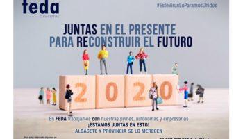 FEDA lanza una campaña de unidad de acción a empresas y autónomos para 'reconstruir el futuro'