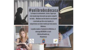 La Biblioteca de Caudete propone la lectura como forma de viajar durante el confinamiento