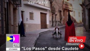 Mañana, Viernes Santo, se podrán escuchar 'Los Pasos' de Caudete a través de Facebook