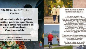 La Concejalía de Juventud ha organizado dos actividades para estos días de cuarentena
