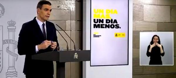 Sánchez pedirá al Congreso ampliar el Estado de Alarma hasta el 9 de mayo, pero con flexibilidad para que los niños salgan a la calle, Caudete Digital - Noticias y actualidad de Caudete (Albacete)