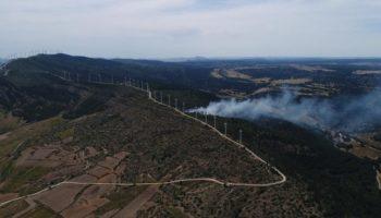 Esta tarde se ha declarado un incendio en Sierra Oliva de Caudete