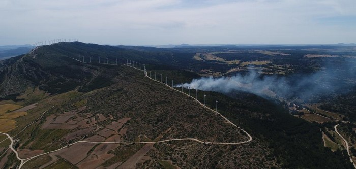 Esta tarde se ha declarado un incendio en Sierra Oliva de Caudete, Caudete Digital - Noticias y actualidad de Caudete (Albacete)