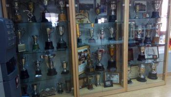Los trofeos del atleta Antonio Amorós se podrán contemplar en la Ciudad Deportiva que lleva su nombre
