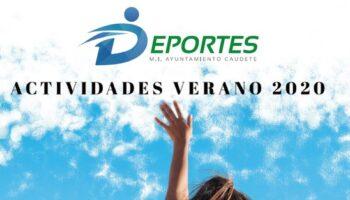 Actividades deportivas municipales para el Verano 2020