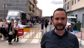 El Ayuntamiento se muestra satisfecho con la nueva ubicación del Mercadillo de los viernes