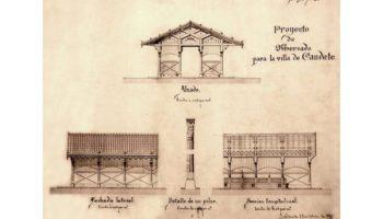 El Portal de Cultura de Castilla La Mancha mostrará hoy el proyecto de obra del Mercado Municipal de Caudete de 1885
