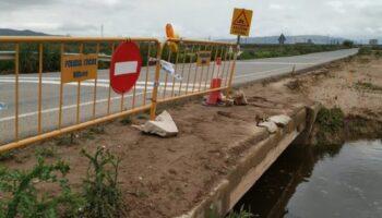 Finalizada la obra que evitará las inundaciones en la carretera de Villena