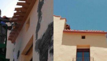 Se han realizado acciones de restauración en la Ermita y Albergue de Peregrinos 'Santa Ana'