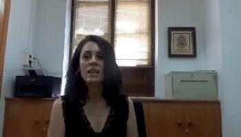 La concejal de Bienestar Social, Inmaculada García, informa sobre las ayudas que se están prestando con motivo de la pandemia