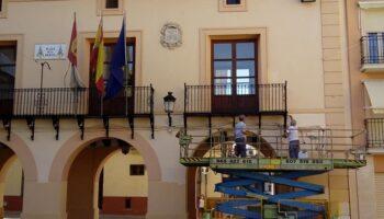 Se ultiman los trabajos de rehabilitación en el edificio del antiguo Salón de Plenos