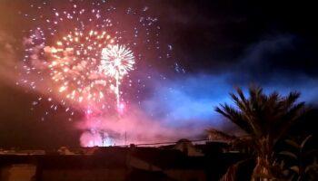 Mañana se disparará un castillo de fuegos artificiales desde el lugar de costumbre
