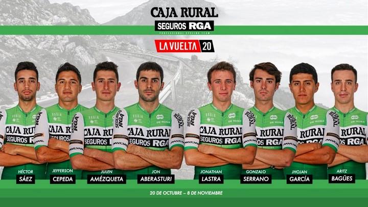 Héctor Sáez, en el equipo del Caja Rural – Seguros RGA para la Vuelta a España 2020, Caudete Digital - Noticias y actualidad de Caudete (Albacete)