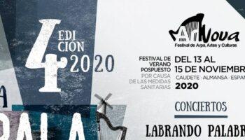 El próximo fin de semana tendrá lugar en Caudete el Festival ArNova