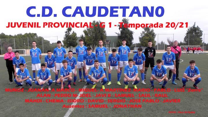 C.D. Caudetano Juvenil 2020 / 2021