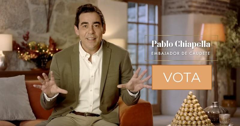 Pablo Chiapella, embajador de Caudete en el concurso 'Juntos Brillamos Más' de Ferrero Rocher, Caudete Digital - Noticias y actualidad de Caudete (Albacete)