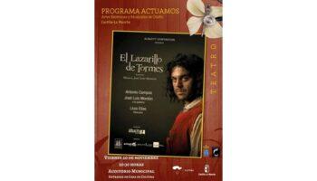 El próximo viernes tendrá lugar en el Auditorio Municipal de Caudete la representación de la obra teatral 'El Lazarillo de Tormes'