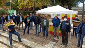 Vox Caudete informó el sábado a los caudetanos de sus proyectos políticos