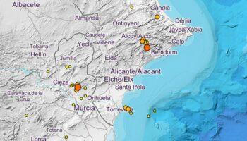 Se ha incrementado la actividad sísmica en el sureste peninsular en los últimos días