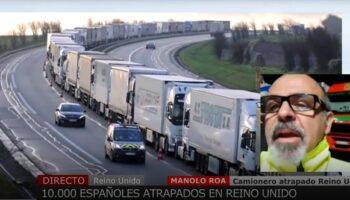 Difícil situación la de muchos transportistas caudetanos bloqueados en puertos de Inglaterra