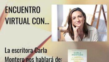 El jueves tendrá lugar en Caudete un encuentro virtual con la escritora Carla Montero