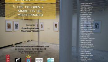 Ayer se inauguró la exposición 'Los colores y símbolos del Mediterráneo'
