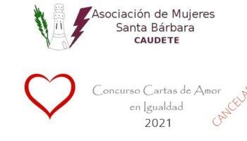 Se ha suspendido el Concurso de Cartas de Amor en Igualdad 2021