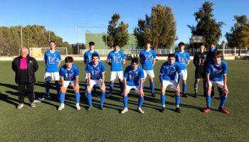 Gran victoria del C.D. Caudetano Juvenil ante el Albacer B por 4-0