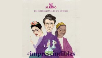 Un concurso del Instituto de la Mujer de Castilla-La Mancha propone identificar las tres mujeres representadas en el cartel del 8 de marzo de 2021