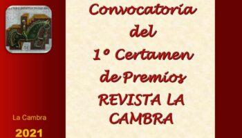 Convocada la primera edición de los Premios de la Revista 'La Cambra'